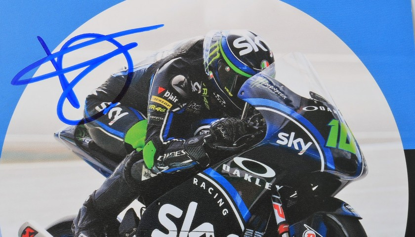 Foggia Signed Photograph, Moto3