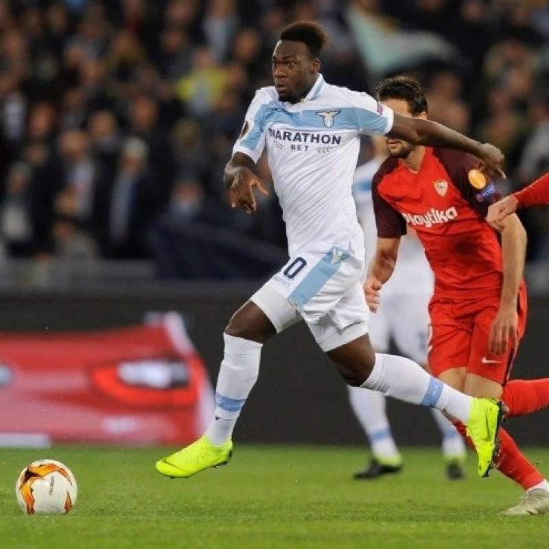 Caicedo's Signed Match Shirt, Lazio-Seville 2019