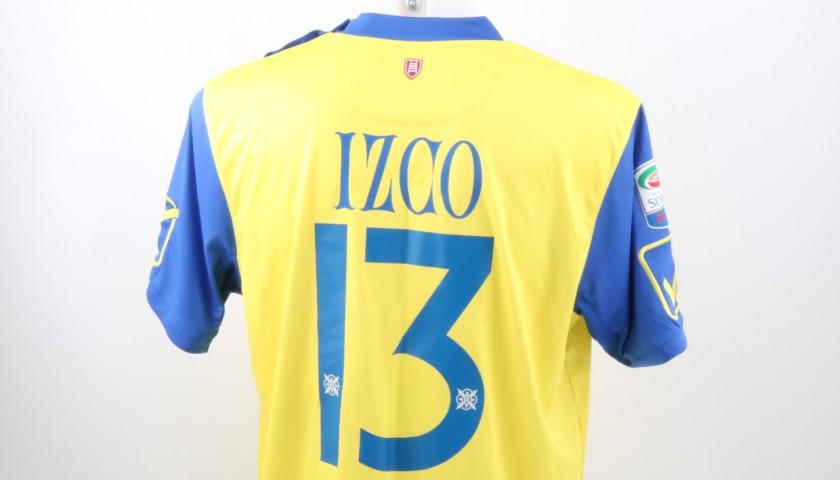 Izco Chievo Match Worn Shirt, Serie A 2016/17