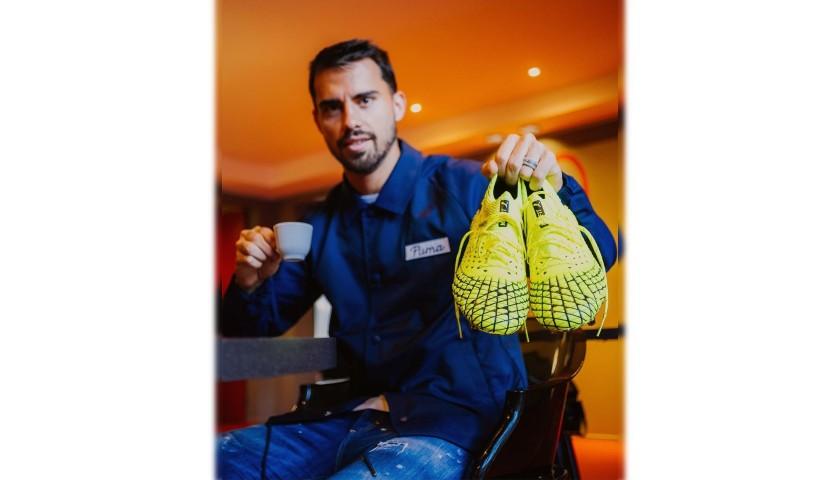 Incontra Suso e ricevi le scarpe Puma e la maglia del Milan CharityStars