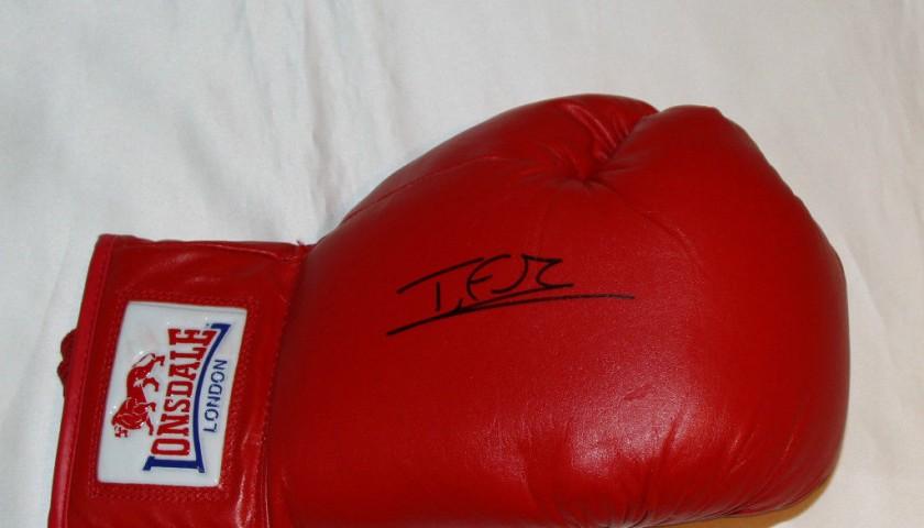 5e8202db Tyson Fury Signed Boxing Glove - CharityStars