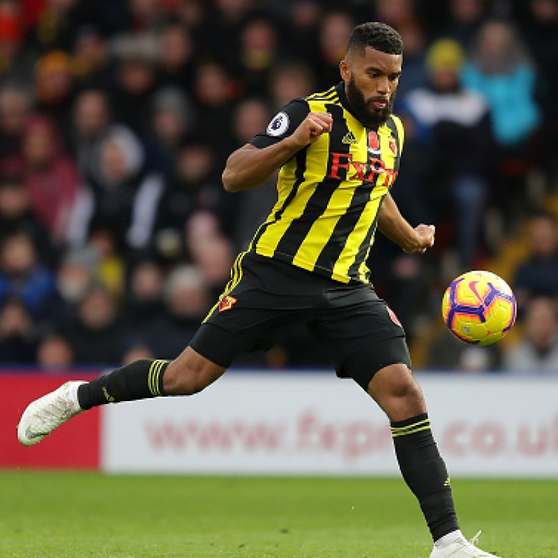 Mariappa's Watford FC Worn and Signed Poppy Shirt