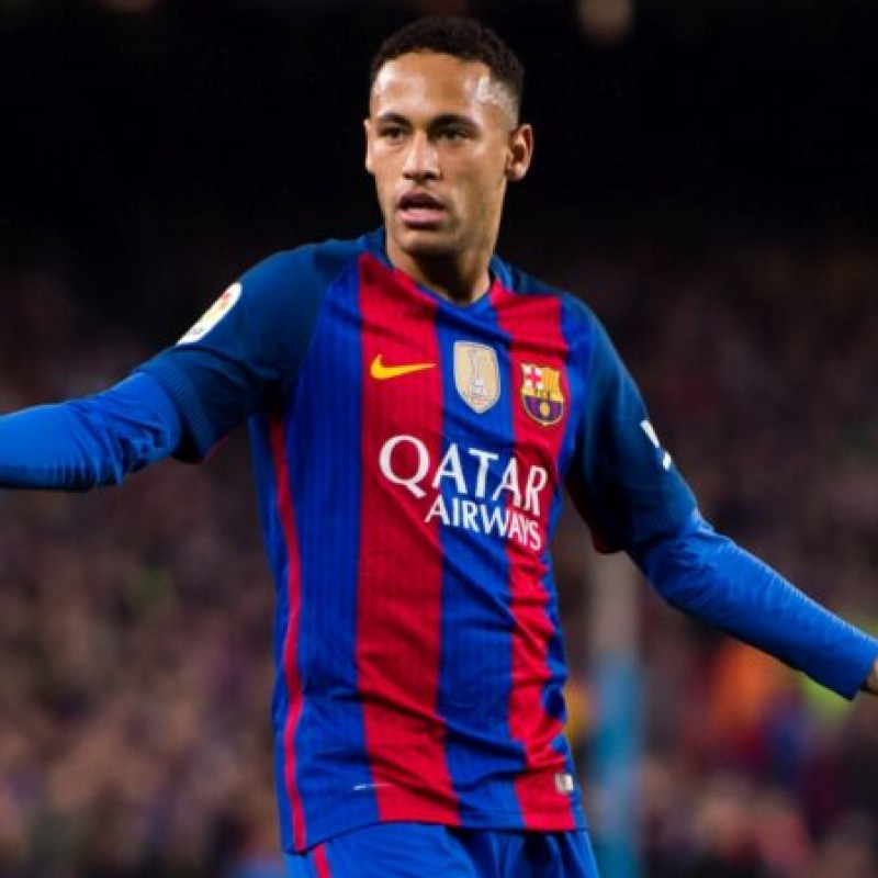 Neymar's Official Barcelona Signed Shirt, 2016/17