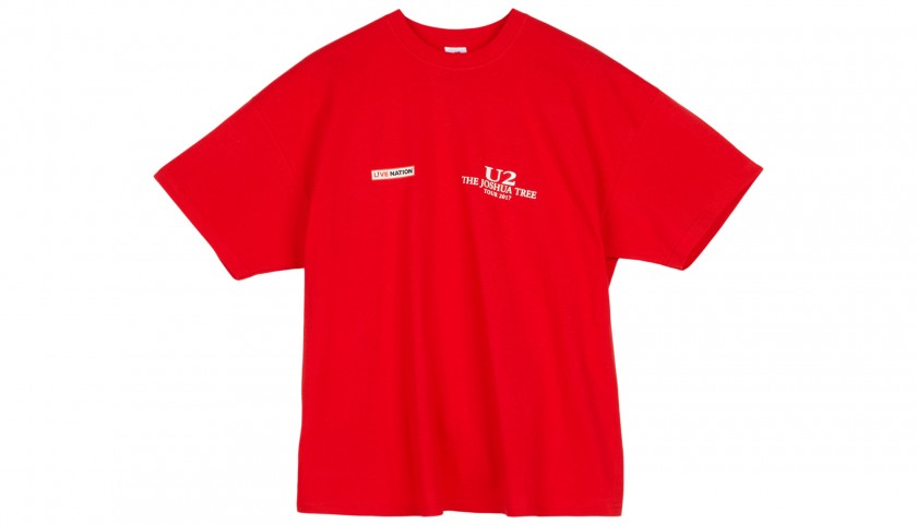 Staff Polo Shirt and T-Shirts from the U2, Bruce Springsteen and Rolling Stones Tours