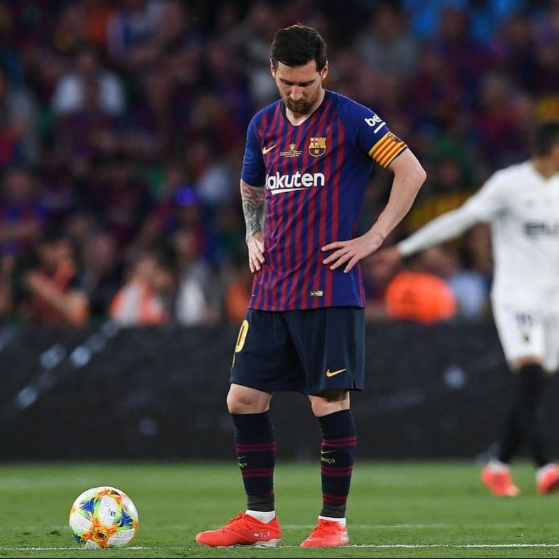 Messi's Match Shirt, Copa del Rey Final 2019