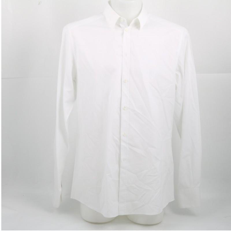 Tiziano Ferro's White Dress Shirt