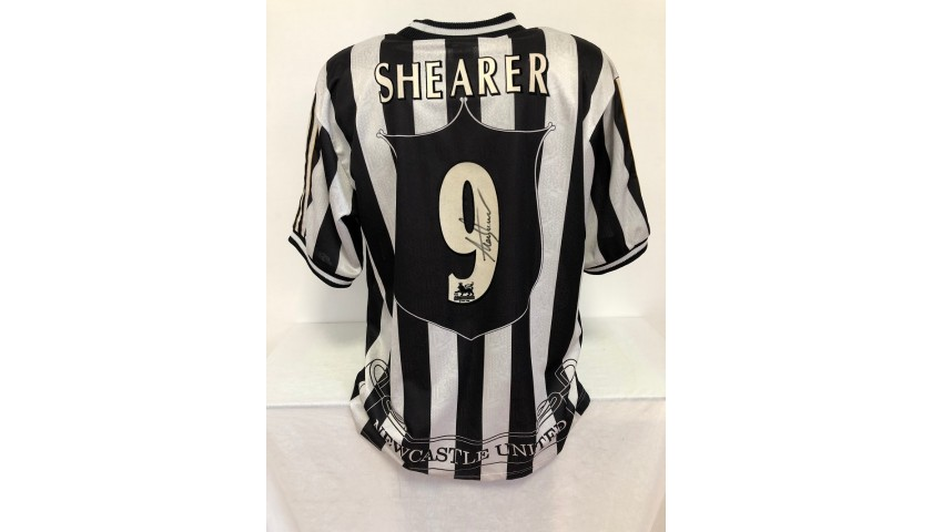 Shearer's Official Newcastle Signed Shirt, 1997/98