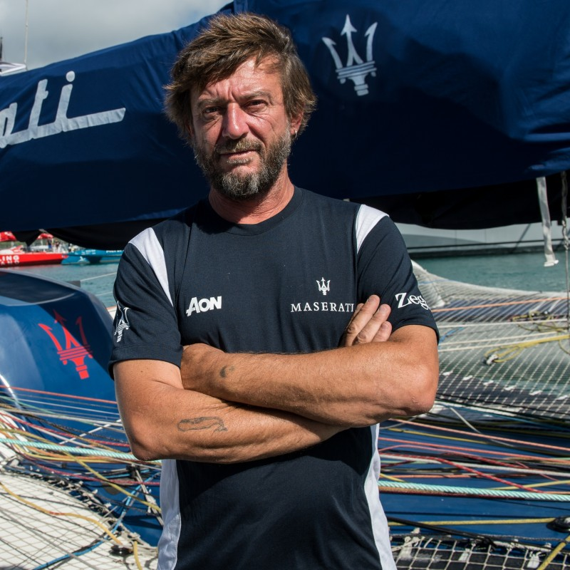 Sailing Experience with Giovanni Soldini aboard the Maserati Multi 70 Trimaran