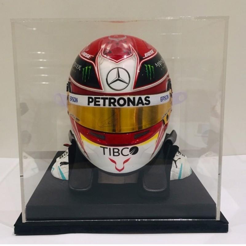 Lewis Hamilton Mercedes Scale Replica Helmet