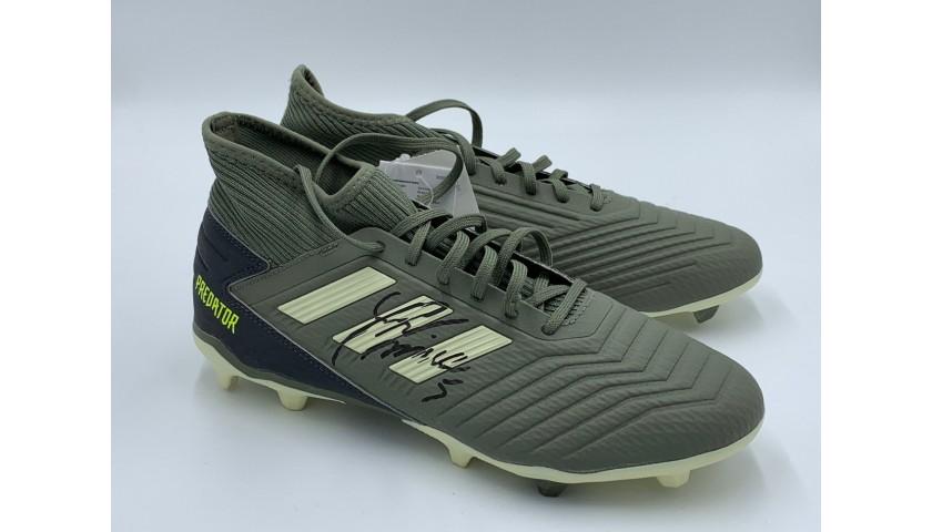 Adidas Predator Boots - Signed by Miralem Pjanić