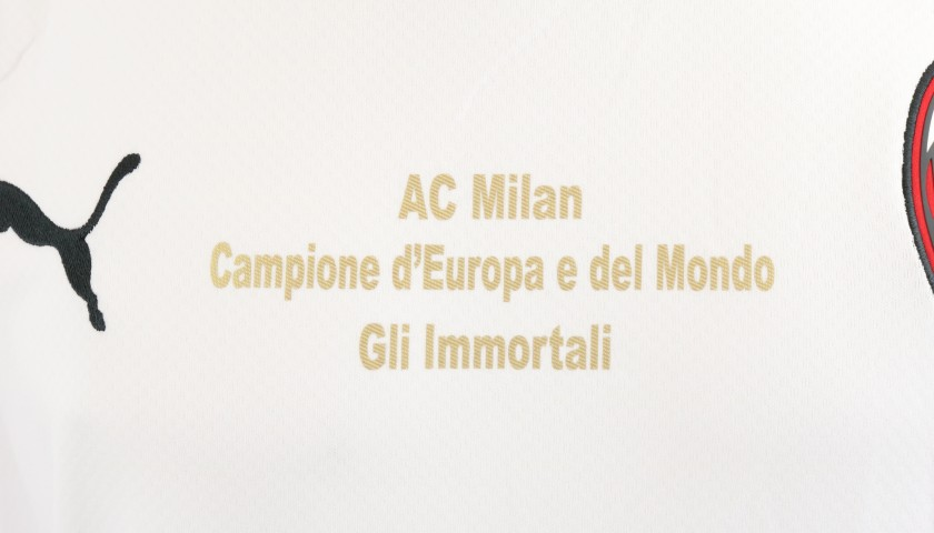 """AC Milan """"Immortali"""" Shirt - Signed by Mussi"""