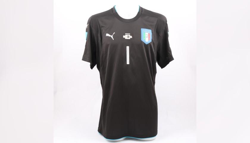 a5e971927 Buffon s Match-Issue Worn Shirt