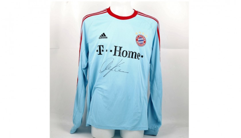 reputable site 2ade6 f4ccd Official 2007/08 Bayern Munich Shirt Signed by Kahn - CharityStars