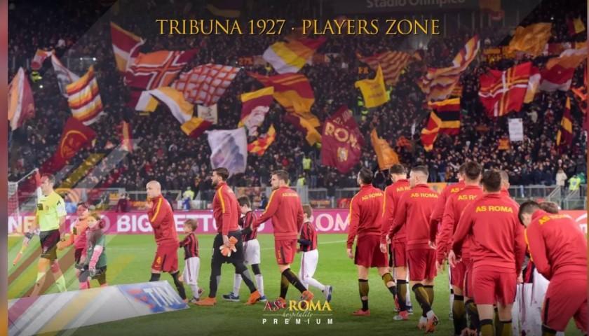 Enjoy AS Roma-Atalanta from the Players Zone with Hospitality