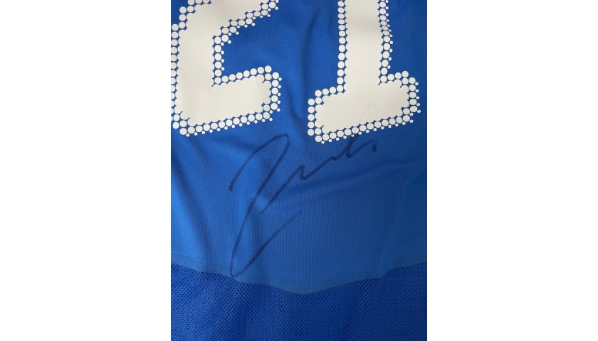 Pirlo's Italy Match Signed Shirt, 2007/08