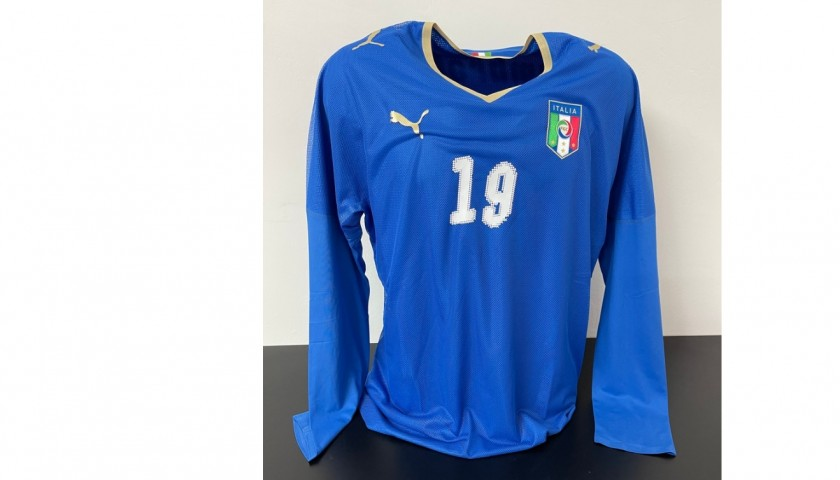 Zambrotta's Italy Match Shirt, 2007/08