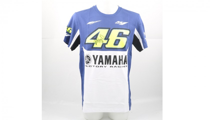 T Shirt Vr46 Signed By Valentino Rossi Charitystars