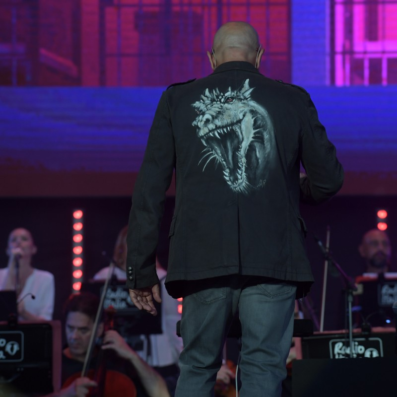 Jacket Worn by Conductor Bruno Santori for Radio Italia Live- The Concert in Palermo, Italy