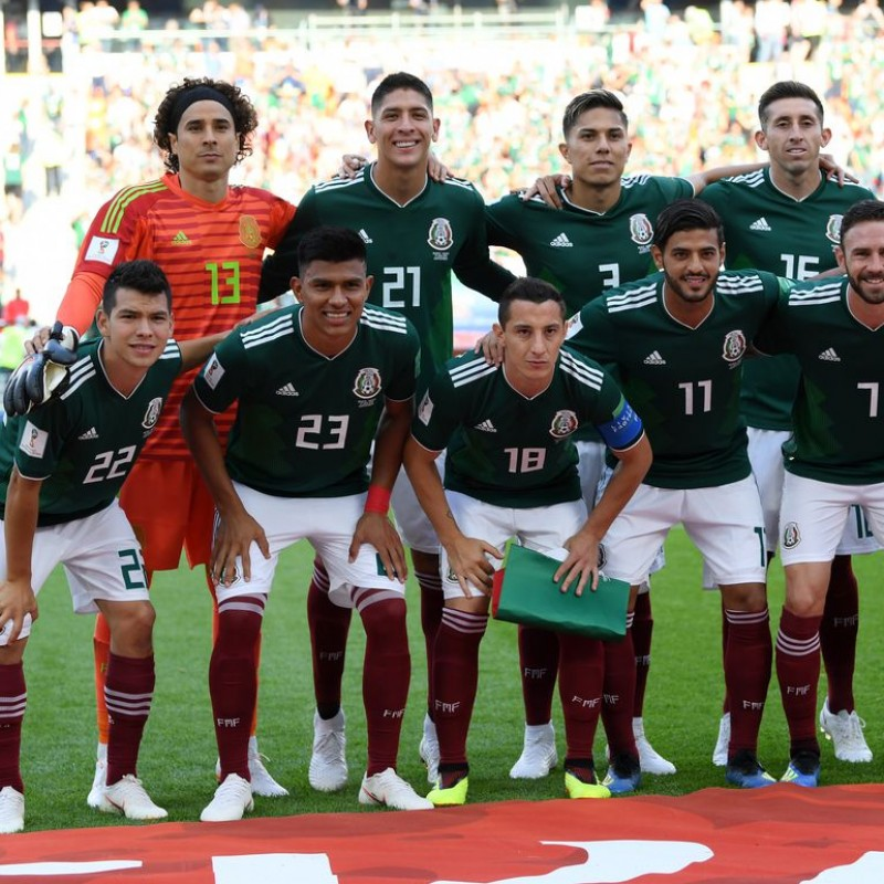 Dos Santos' Match Shirt, Brazil-Mexico 2018