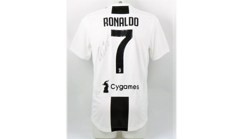 Ronaldo's Authentic Juventus 2018/19 Signed Shirt