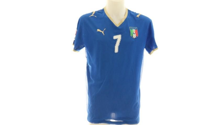 Del Piero's Italy Euro 2008 Signed Match Shirt