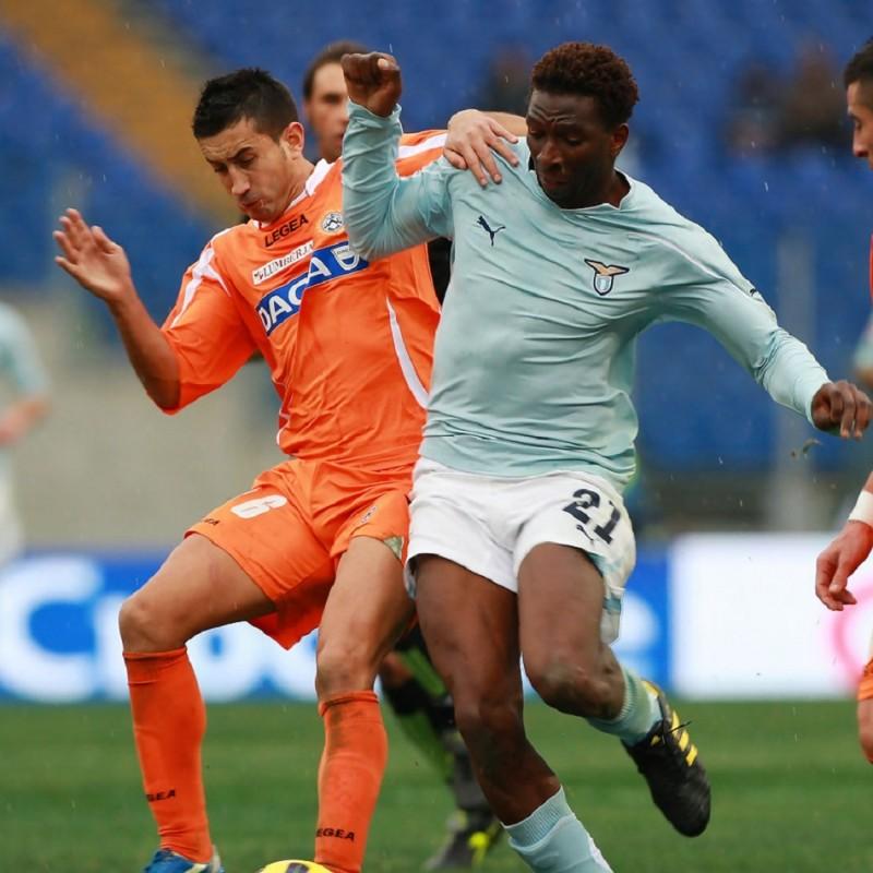 Diakite's Official Lazio Signed Shirt, 2010/11