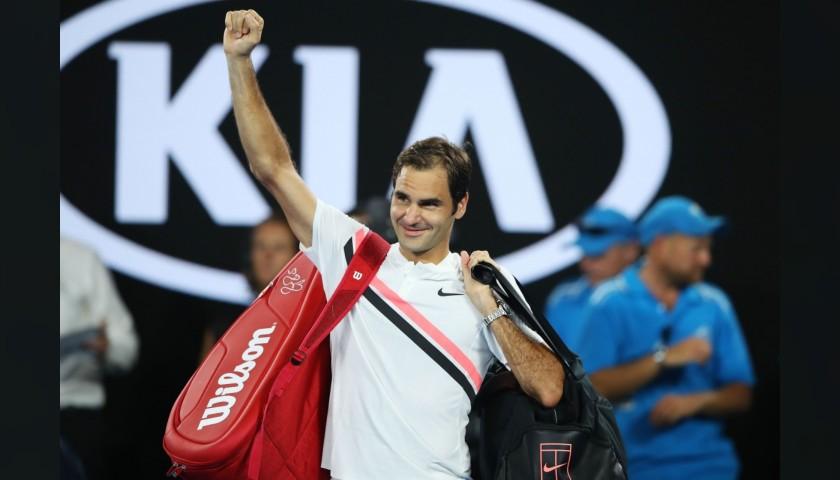 Roger Federer Signed Wilson Bag