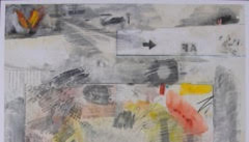 """Square"" by Robert Rauschenberg"