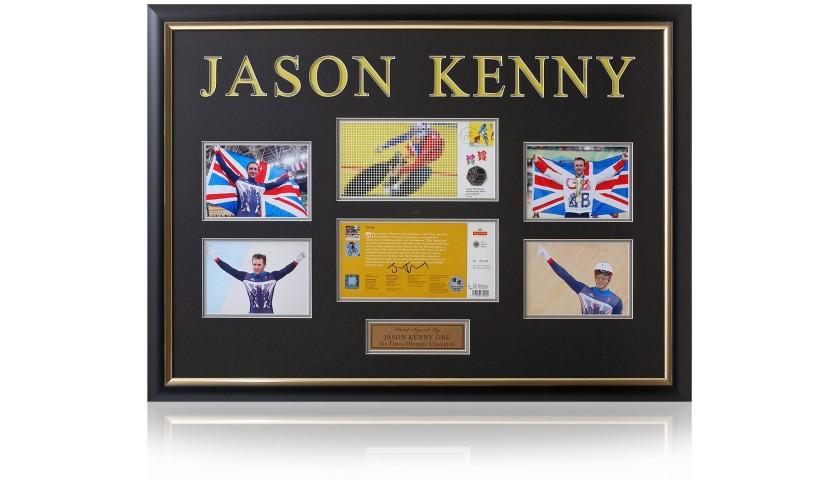 Jason Kenny Hand Signed Cycling Coin Presentation London 2012 Olympics