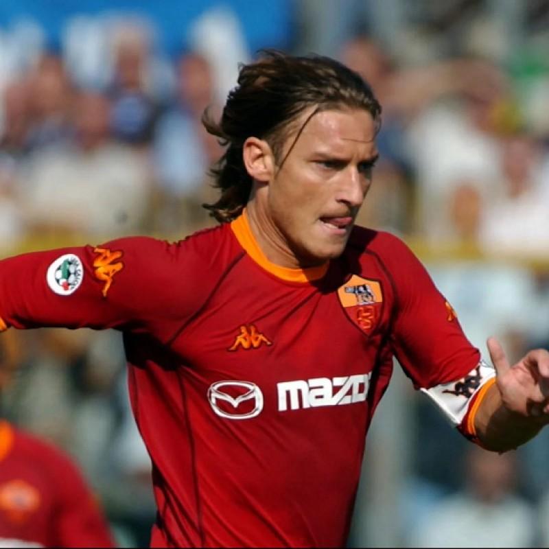 Totti's Roma Match Shirt, 2002/03