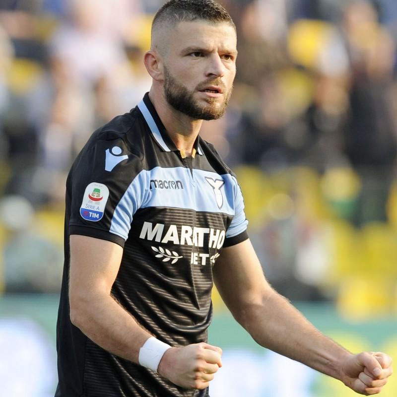 Berisha's Lazio Match Shirt, Serie A 2018/19