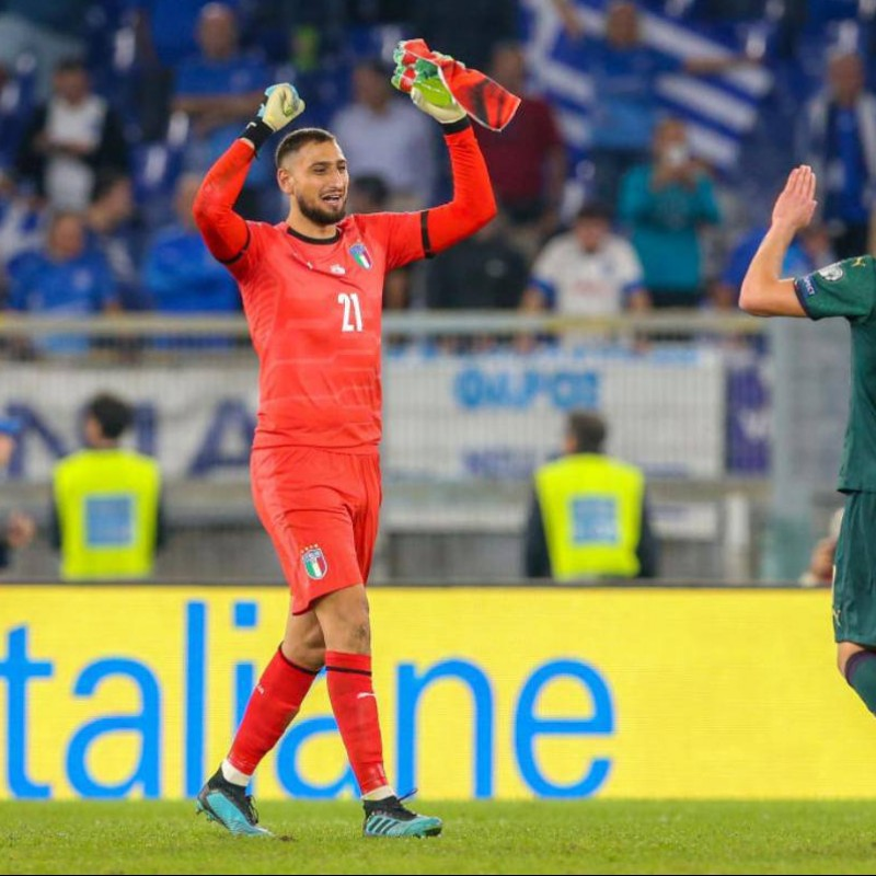 Donnarumma's Match Shorts, Italy-Greece 2019