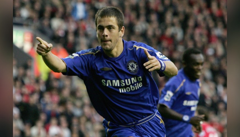 Joe Cole's Chelsea Signed Match Shirt, 2005/06