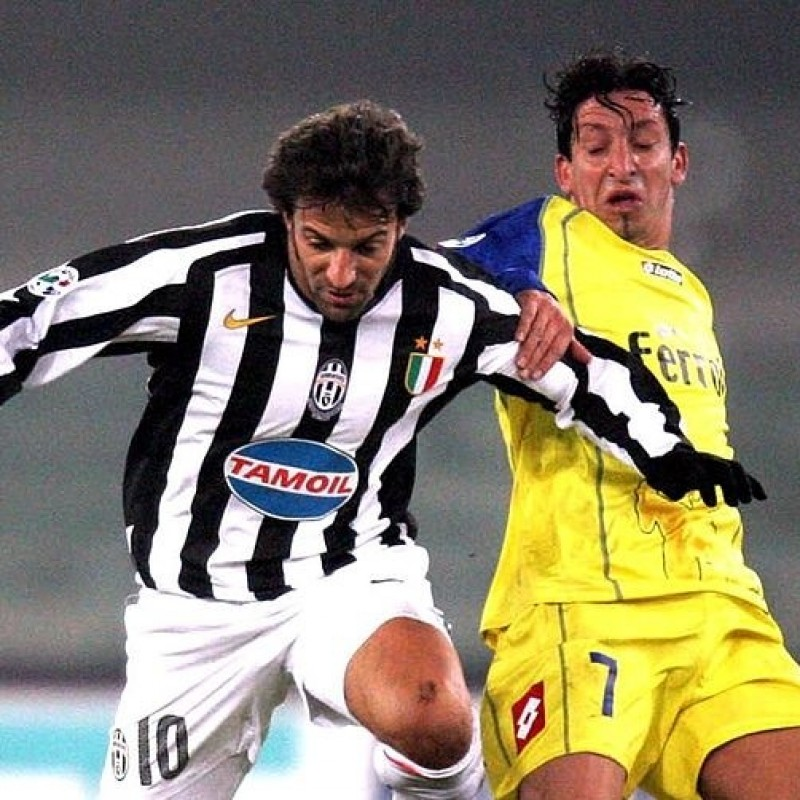 Del Piero's Match Shirt, Chievo-Juventus 2006