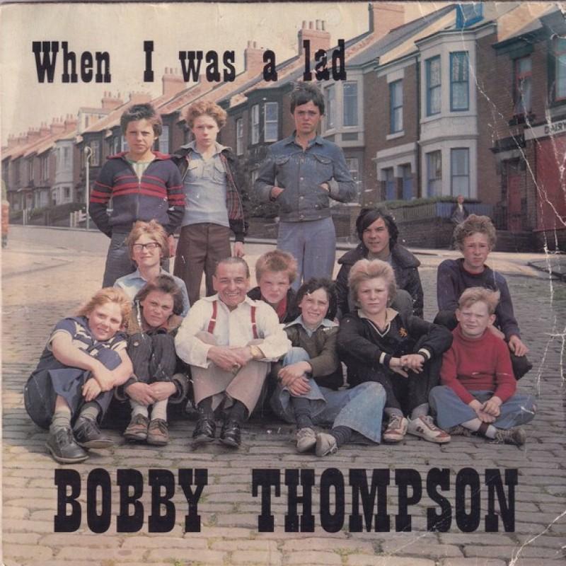 """When I was a lad"" Vinyl Single - Bobby Thompson, 1979"