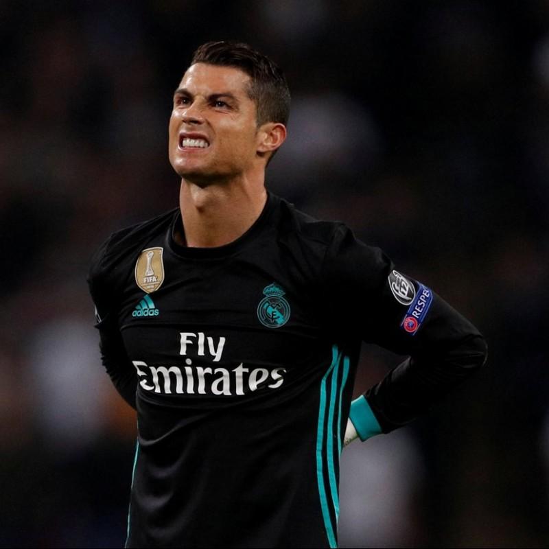 Signed Official Ronaldo 2017/18 Real Madrid Shirt