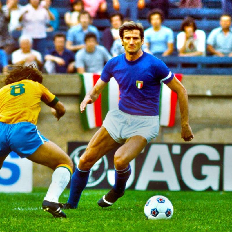Facchetti's Italy Match Shirt - '60s / '70s