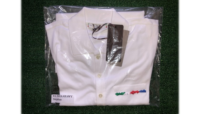 Stephan El Shaarawy's Ermanno Scervino Polo Shirt