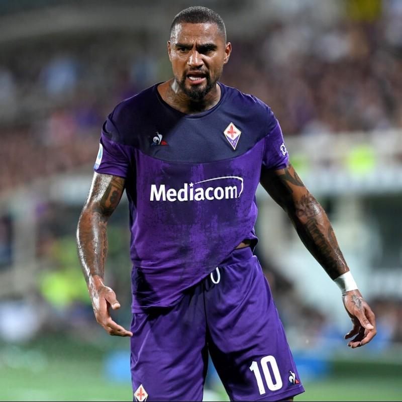Boateng's Worn Shirt, Fiorentina-Napoli 2019