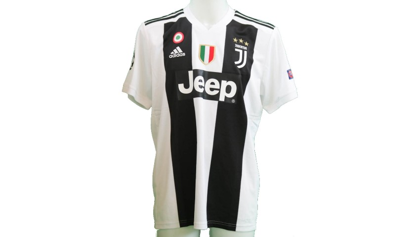 Ronaldo's Official Juventus 2018/19 Signed Shirt