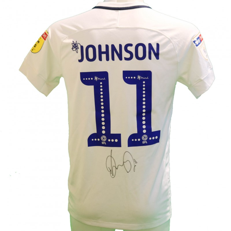 Johnson's Preston Worn and Signed Poppy Shirt