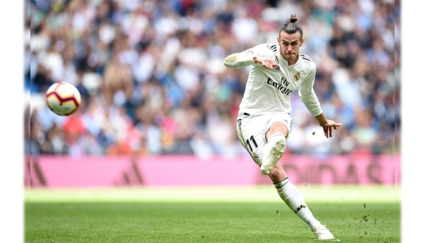 Bale's Real Madrid Match Shirt, Liga 2018/19