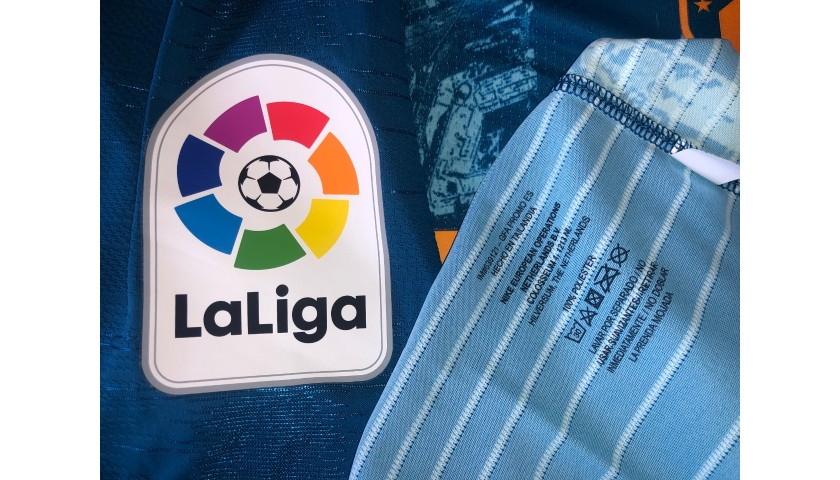 Koke's Atletico Madrid Match Shirt, Liga 2018/19