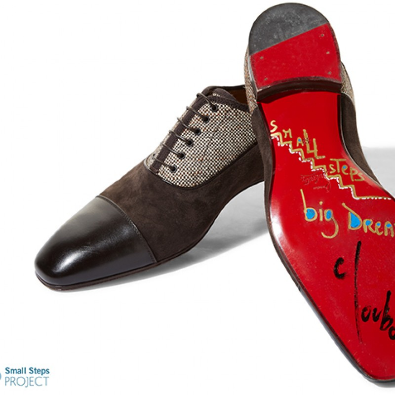 Christian Louboutin's Autographed Louboutin Shoes from his Personal Collection