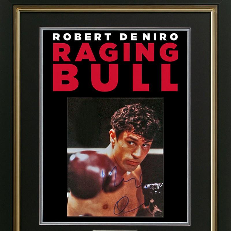 "Robert De Niro Hand Signed ""Raging Bull"" Presentation"
