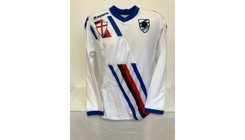 Cassano's Official Sampdoria Signed Shirt, 2010/11