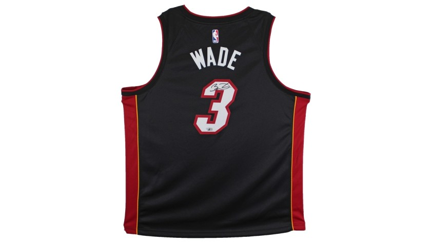 Dwayne Wade Signed Jersey