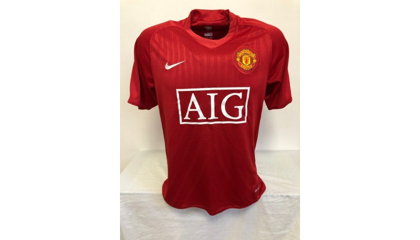 Ronaldo's Official Manchester United Signed Shirt, 2007/08