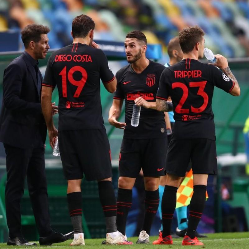 Lemar's Match Shirt, Leipzig-Atletico Madrid 2020