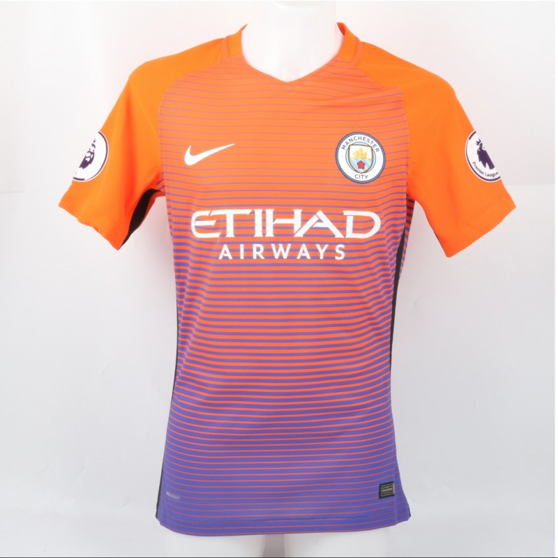 Sagna's Match-Issued/Worn Shirt, PL 2016/17